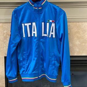 Official Italia zip up sweatshirt size L